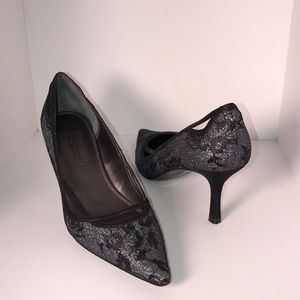 A. Marinelli Lace Pumps